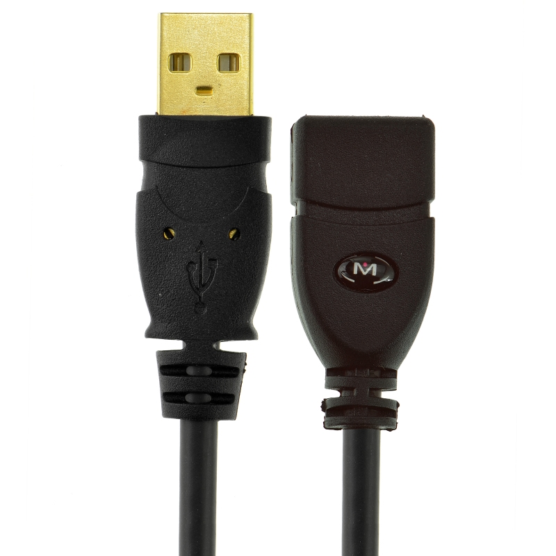 USB 2.0 - USB Extension Cable - A Male to A Female (10 Feet)