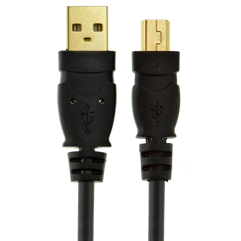 USB 2.0 - Mini-USB to USB Cable - High-Speed A Male to Mini B (4 Feet)