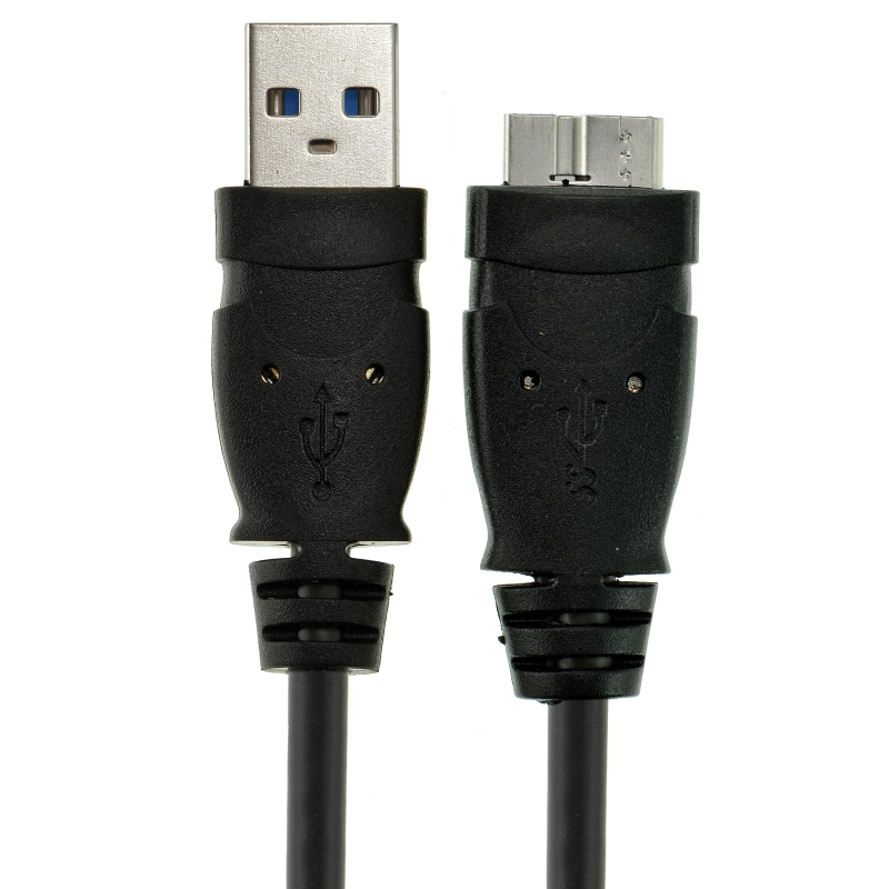 USB 3.0 - Micro-USB to USB Cable - SuperSpeed A Male to Micro B (4 Feet)