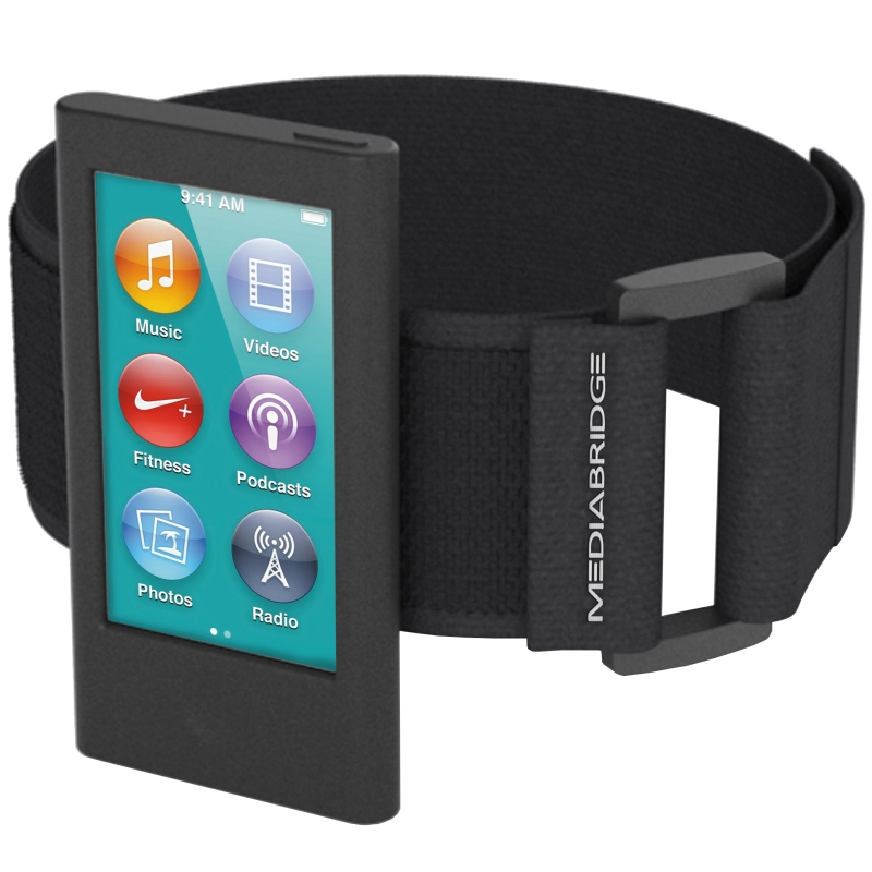 Sport Armband for iPod Nano - 7th & 8th Generation (Black)