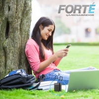 Forte - Portable Bluetooth Speaker with Powered Subwoofer