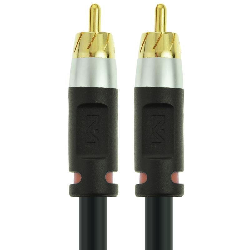 ULTRA Series Digital Audio Coaxial Cable (Black - 15 Feet)