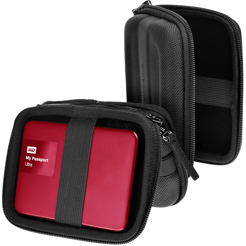 Carrying Case For Portable External Hard Drive