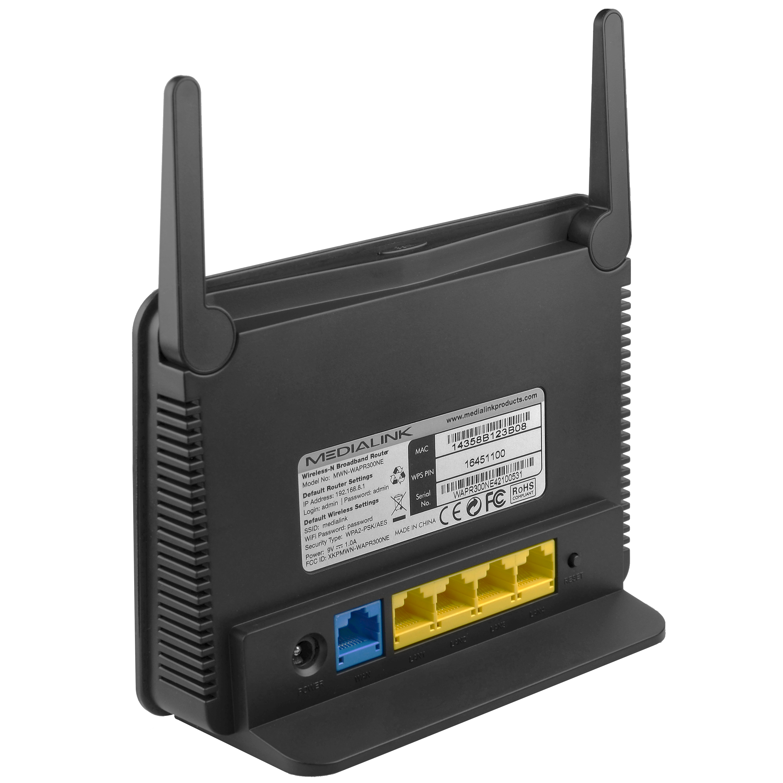shop new easy setup wireless router range extender 300. Black Bedroom Furniture Sets. Home Design Ideas