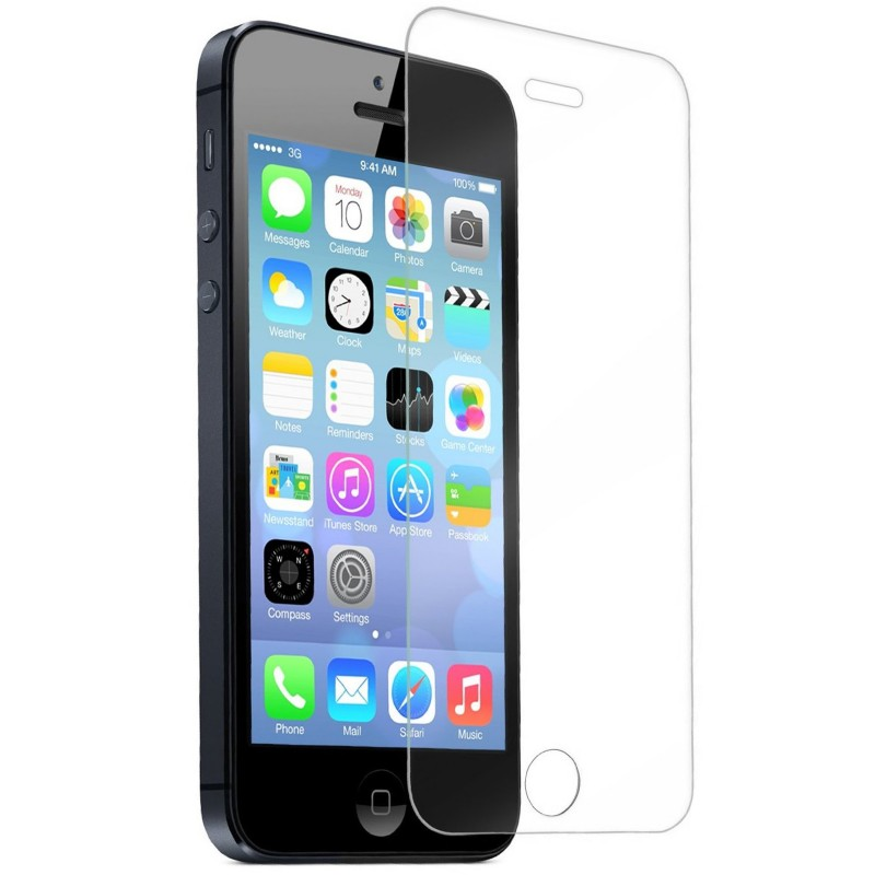 Premium Tempered Glass Screen Protector for iPhone SE/5s/5c/5