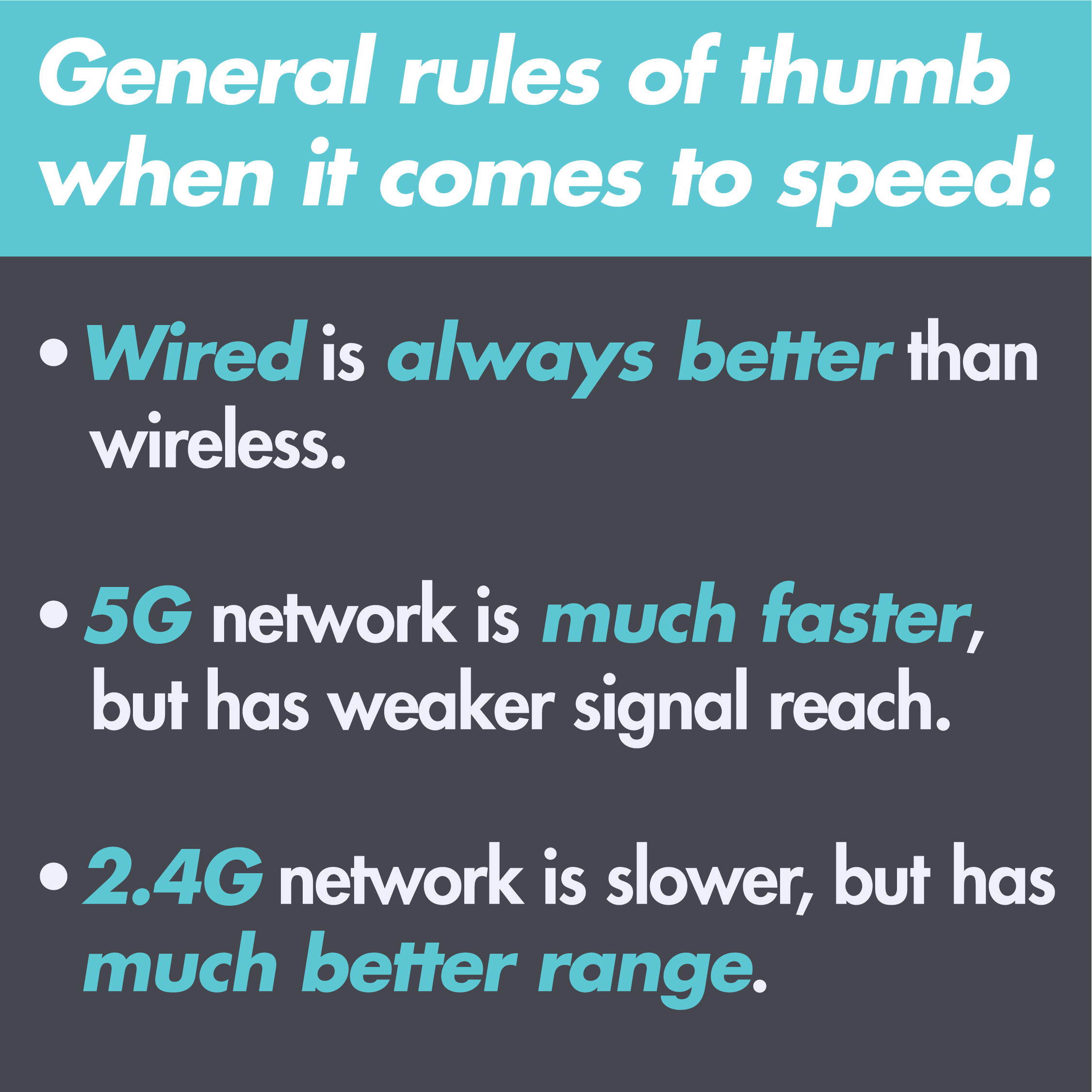 Let\'s Talk About Router Speed | Mediabridge Products