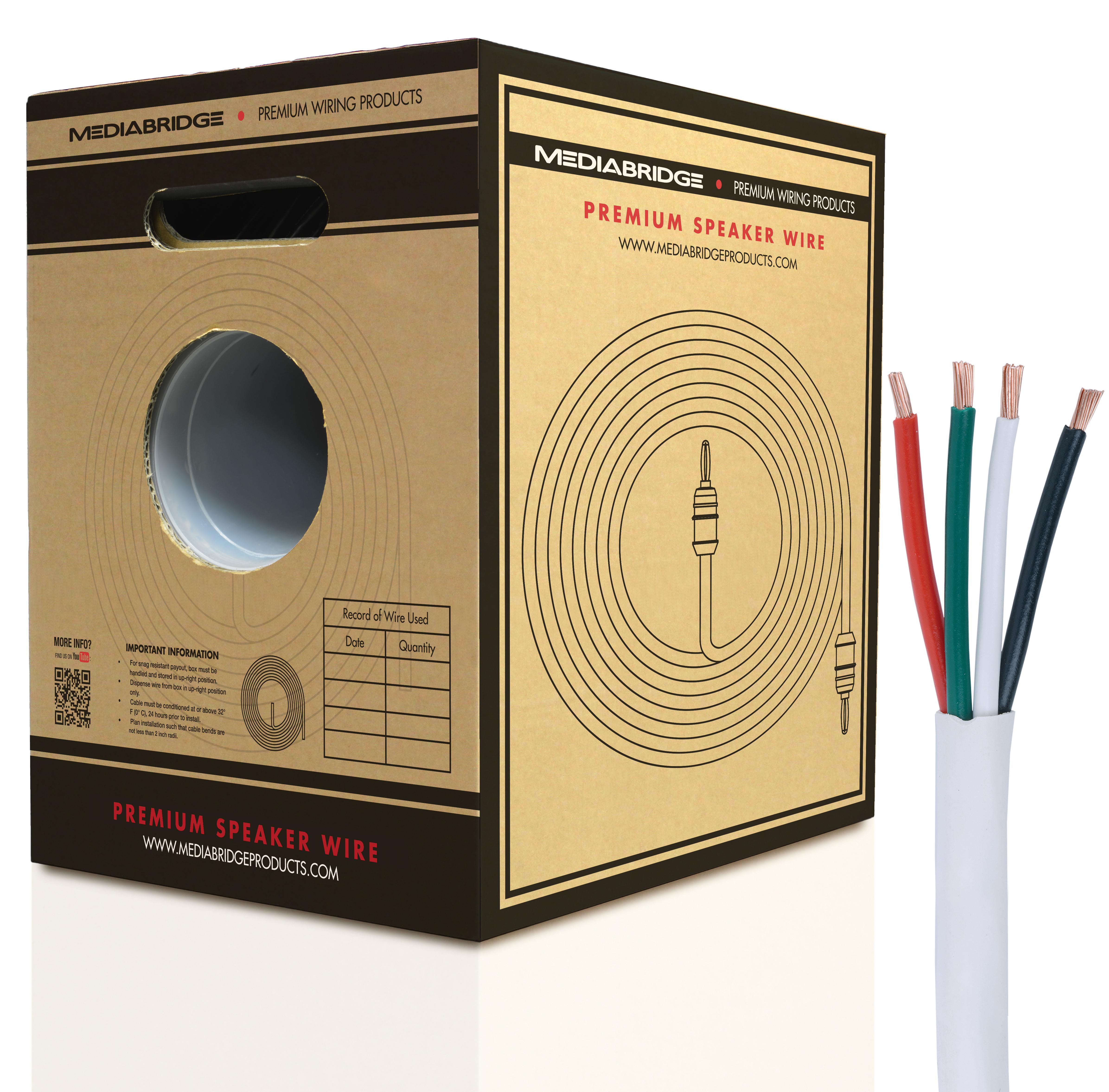 Shop New Speaker Wire | Mediabridge Products
