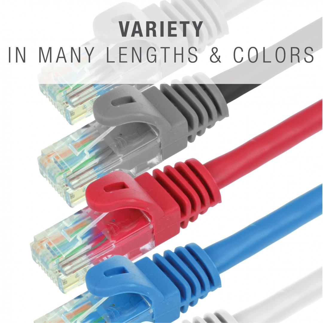 Shop New Mediabridge Ethernet Cable Supports Cat6 Cat5e Cat5 Pairs 24awg Utp Patch Cordnetwork Wiring Diagramnetwork Cables Come In A Variety Of Lengths And Colors To Choose From Order Help You Organize Your Network