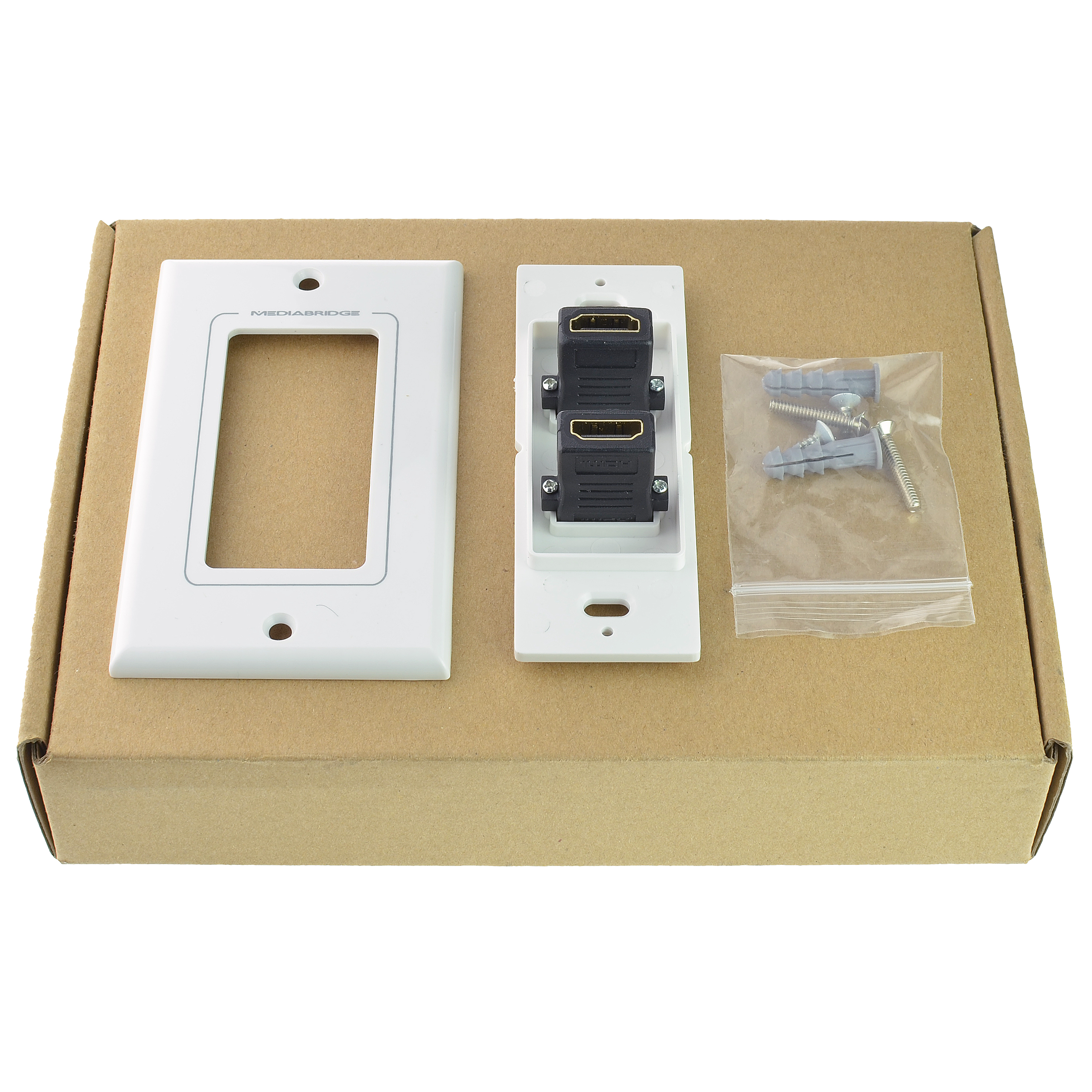 Shop New Wall Plate with HDMI (2 Port) - [Latest Version - Supports ...